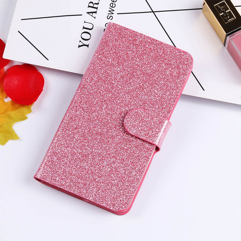 QIJUN Glitter Bling Flip Stand Case For Alcatel One Touch Pop 3 5 0 39 39 5015 5015D 5065A 5 5 39 39 5025 5025D Wallet Phone Cover Coque in Flip Cases from Cellphones amp Telecommunications