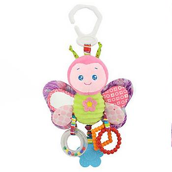 Dzwonki dla zwierząt muzyczne zabawki rozwojowe dzwonki do łóżeczka dla dzieci miękkie zabawki niemowląt grzechotki tanie i dobre opinie Pluszowe Unisex S791 0-12 miesięcy 13-24 miesięcy 3 lat Oddziela SOFT
