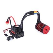купить GTSKYTENRC Combo F540 3300KV/4370KV Brushless Motor with 45A Electronic Speed Controller for 1/10 RC Tamiya Axial Redcat дешево