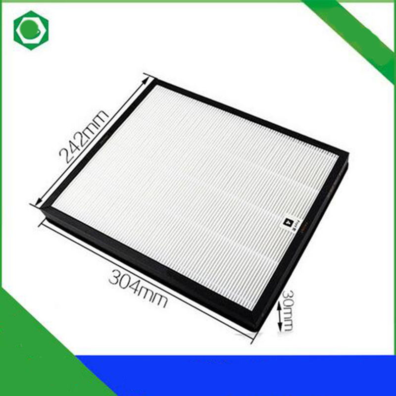 30.3*24.2*3cm Air Purifier Parts HEPA Dust Collection Filter AC4120 for Philips AC4001 Air Purifier gx diffuser car air purifier clean air ozone portable air purifier hepa dust collection filter