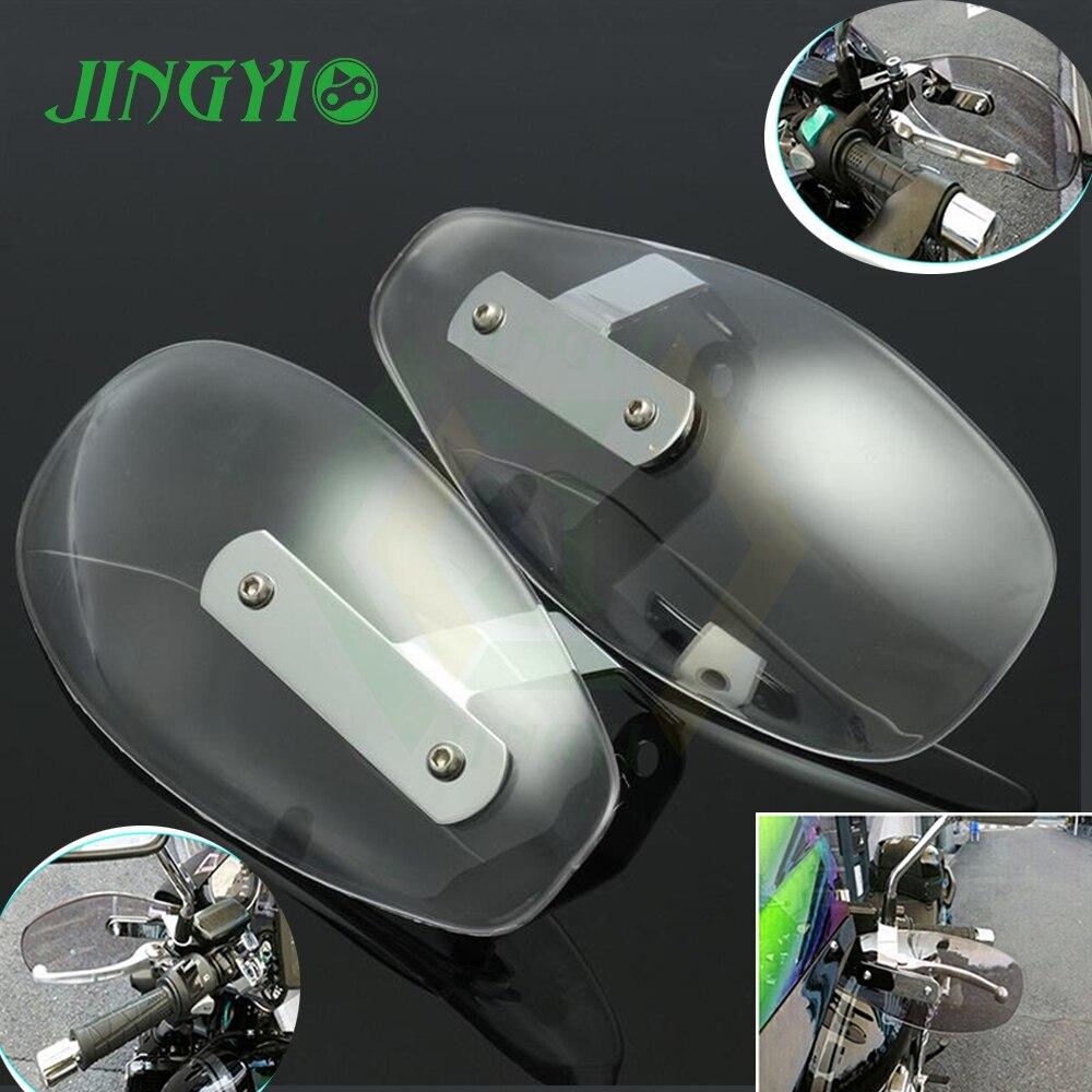 Motorcycle Accessories FOR CB400 KYMCO AK 550 SUZUKI BANDIT 650 KAWASAKI KLX 250 Hand guard cover Windshield Lever Guard