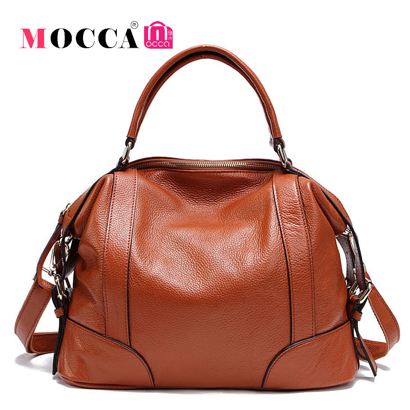 Classic Women Real 100% Genuine Leather Bags Designer Brand Handbags High Quality Shoulder Bags Ladies Messenger Bags Tote WG593