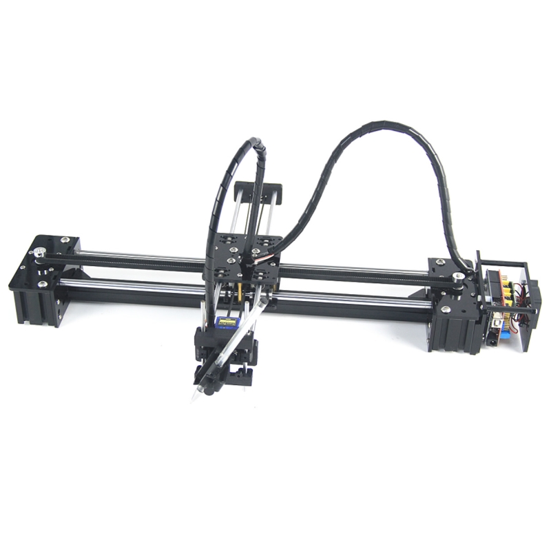 DIY LY Drawbot Pen Drawing Robot Machine Lettering Corexy XY-plotter Robot For Drawing Writing CNC V3 Shield Drawing Toys