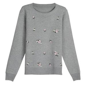 Image 3 - OHCLOTHING 2019 Herbst Pullover Frauen Stickerei Gestrickte Winter Frauen Pullover Und Pullover Weibliche Trikot Jersey Jumper Pull Femme