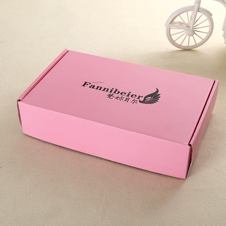 wholesaler custom Corrugated paper box for gift candle glass cup Mailing box packing boxes 1000pcs/lot