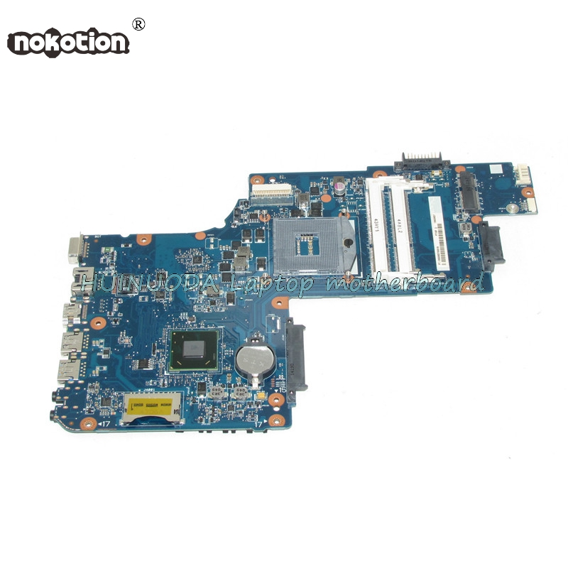 все цены на NOKOTION H000061920 laptop motherboard for Toshiba Satellite C50 C50D PGA989 HM70 DDR3 Main board works