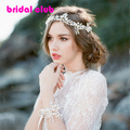 Luxurious Latest Pearl Tiara Bridal Floral Leaves Branch Headband Crystal Wedding Headpiece Bridal Hair Accessories