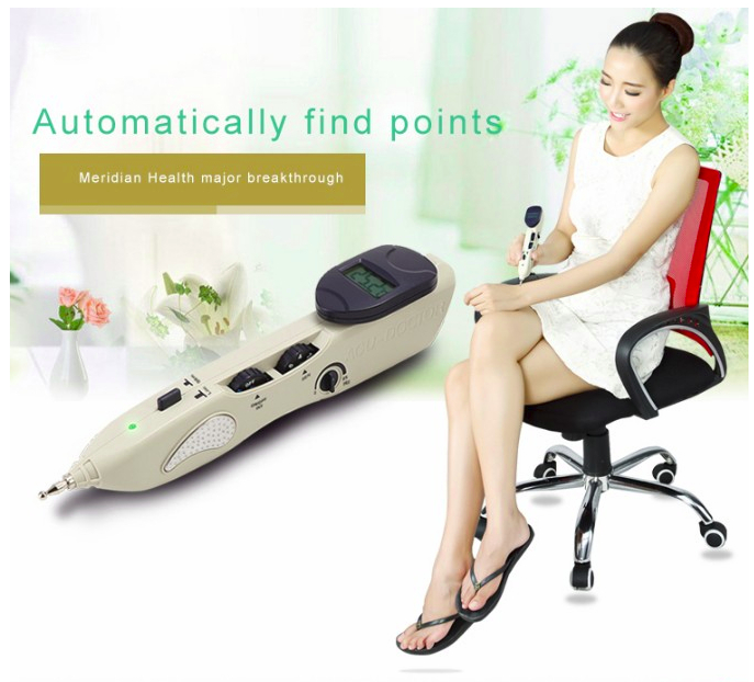2017 new ly 508b acupuncture meridian pen Electronic massage acupuncture pen point massage instrument for hole