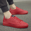 2017 Spring New Fashion Low Top Men shoes Plastic Model Lace-up Uneven Upper Specefic Shoes Smiling Face Tongue Skate Shoes