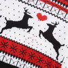 Two Person ugly christmas sweater Xmas Couples Pullover Novelty Christmas Blouse Top sweatershirt pull hiver femme 2018 4