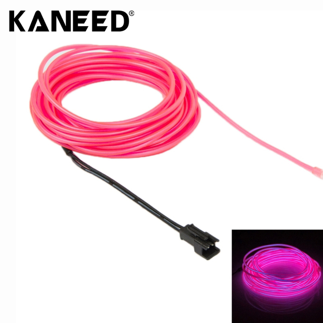 Universal 5m 5 colors car styling flexible neon light el wire rope universal 5m 5 colors car styling flexible neon light el wire rope car decoration strip with aloadofball Image collections