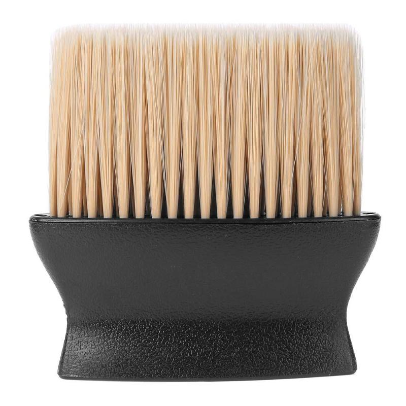 1pc Plastic Hair Cleaning Brush 3D Soft Fibre Hair Neck Face Washing Brush Pro Barbershop Salon Tools Supplies