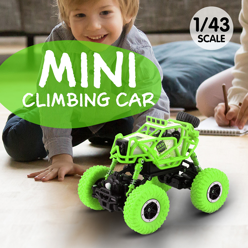 1/43 RC Car Rc Mini Rock Crawlers 2.4Ghz Radio Controlled Cars Off-Road Machine RTR Toys For Boys Gifts