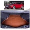 Бесплатная доставка волокна кожа автомобилей коврик багажного отделения для ford mondeo fusion 4-го поколения 2014 2015 2016 2017 4-дверный седан