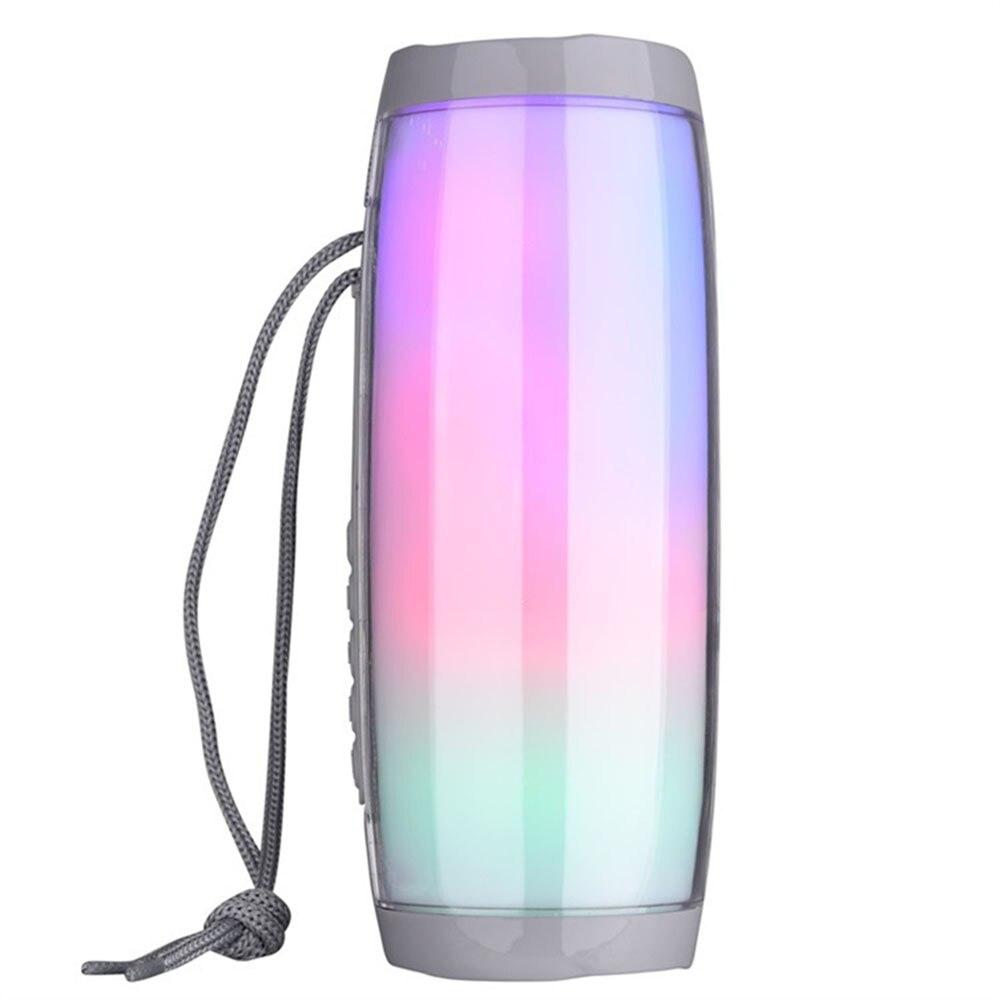Beautiful Tg157 Bluetooth Speaker Column Colorful Light Hifi Stereo Wireless Loudspeaker For Phone Ipad Computer Possessing Chinese Flavors