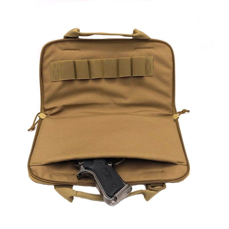 High Strength Nylon Portable Fashion Tactical Shock Protection Bag Multi-Function Kit Leisure Sports Portable Gun Hand Bag(China)