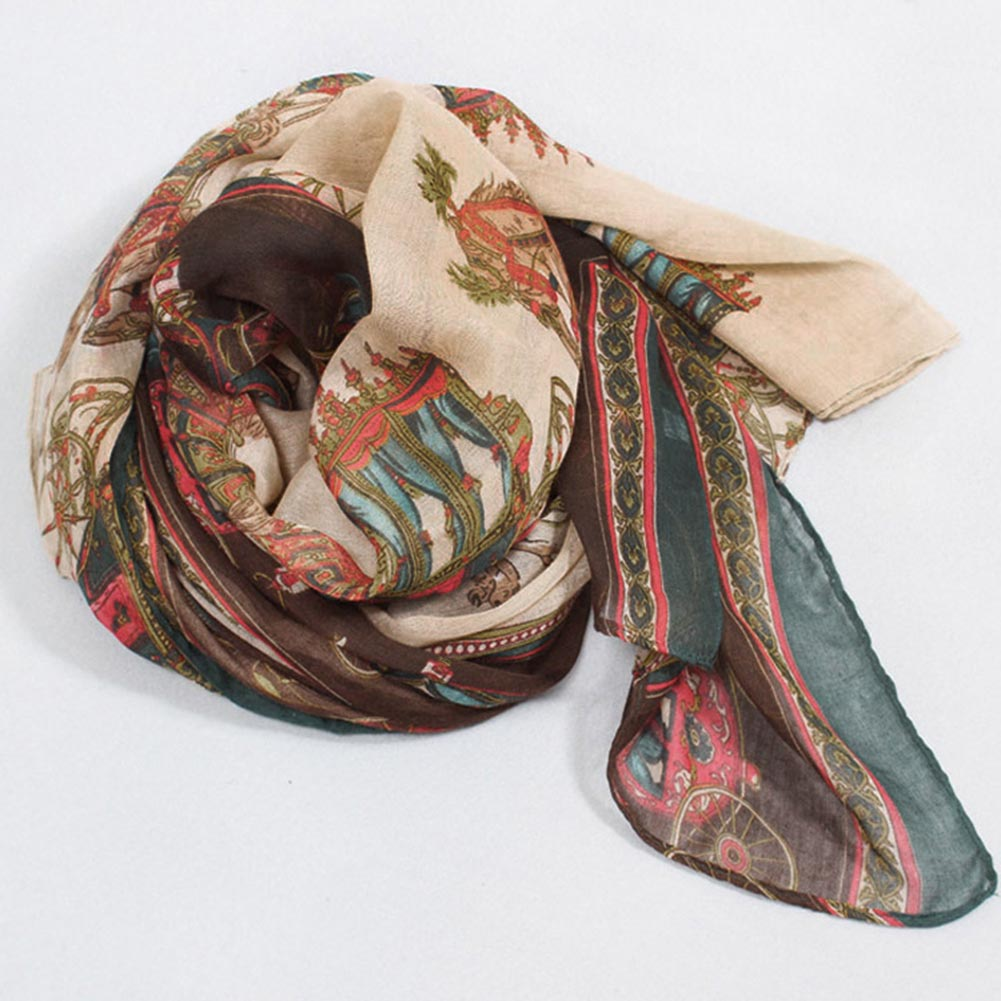 The new warm green scarf shawl scarves scarf winter beach towel carriage is convenient to carry Charm decoration