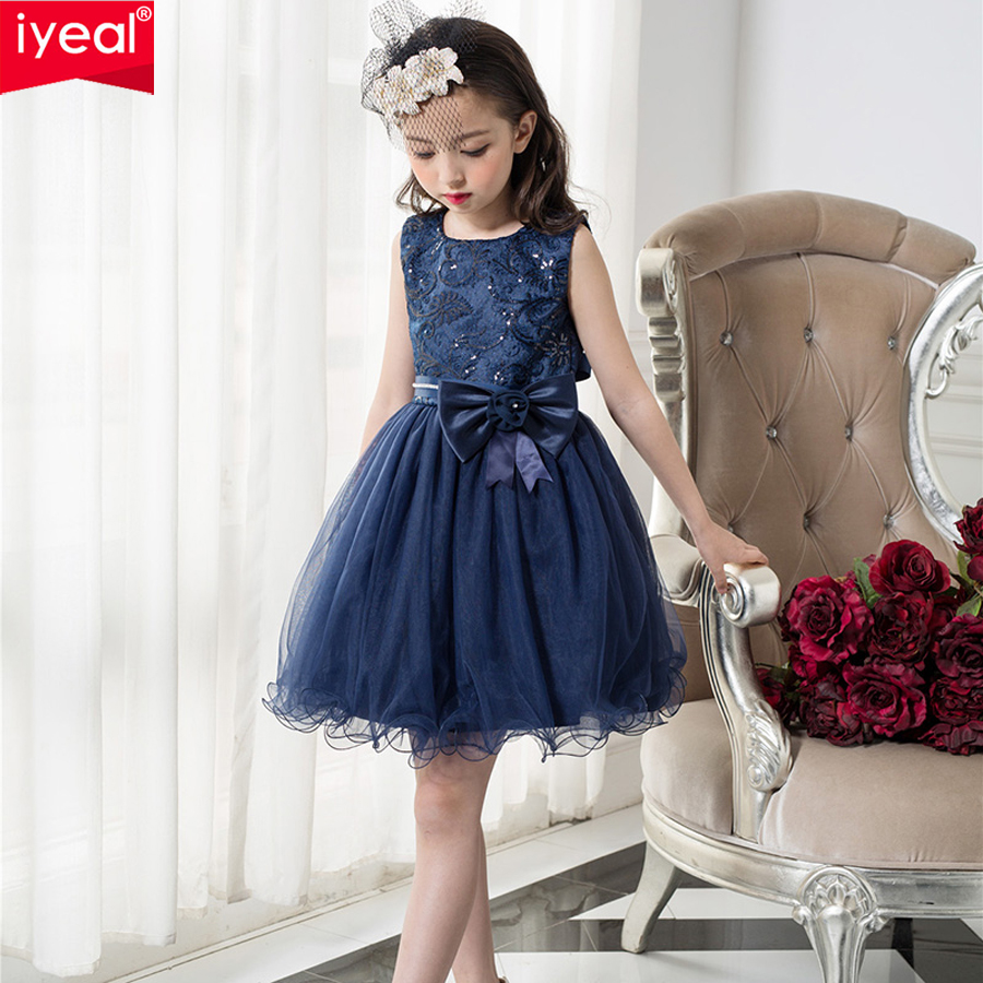 Aliexpress Buy Iyeal Brand Girls Dresses For Party And Wedding