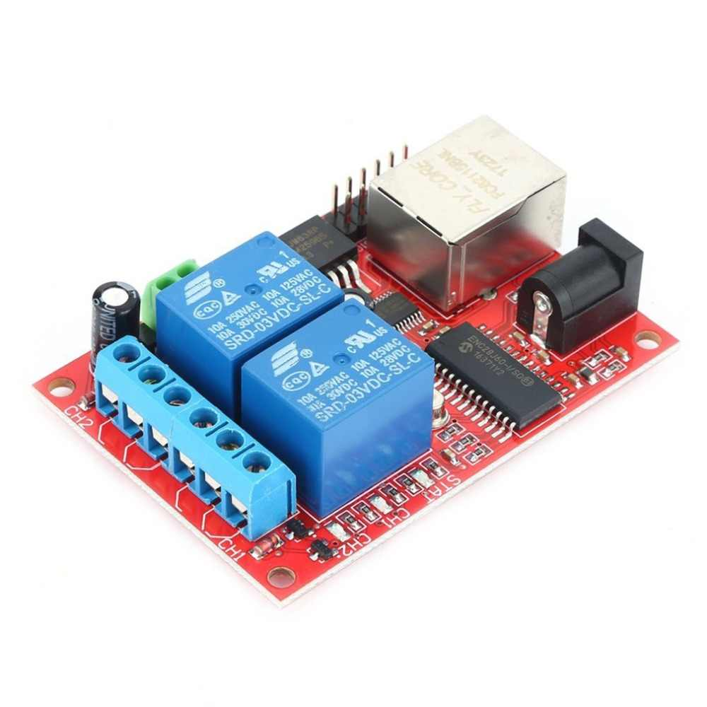 Detail Feedback Questions About Lan Ethernet Relay Board 2 Way Delay Switch Over Tcp Udp Controller Module Web Server Electronic