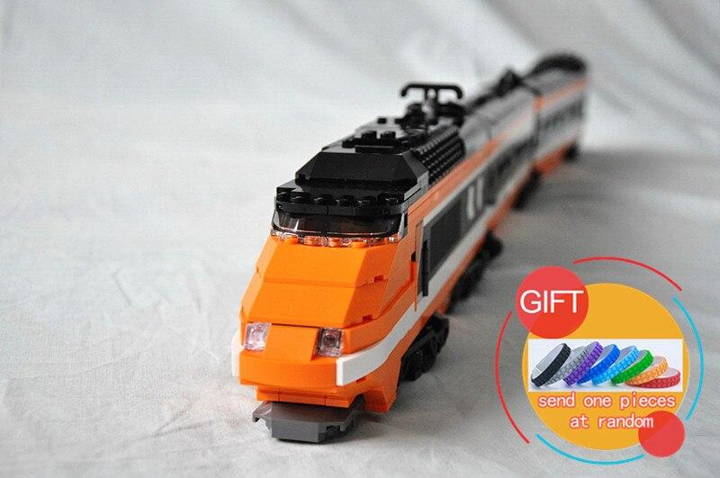 21007 1351Pcs Technic Series The Horizon Express Building Blocks Mini Assembled Clone compatible 10233 Gift toys lepin цена и фото
