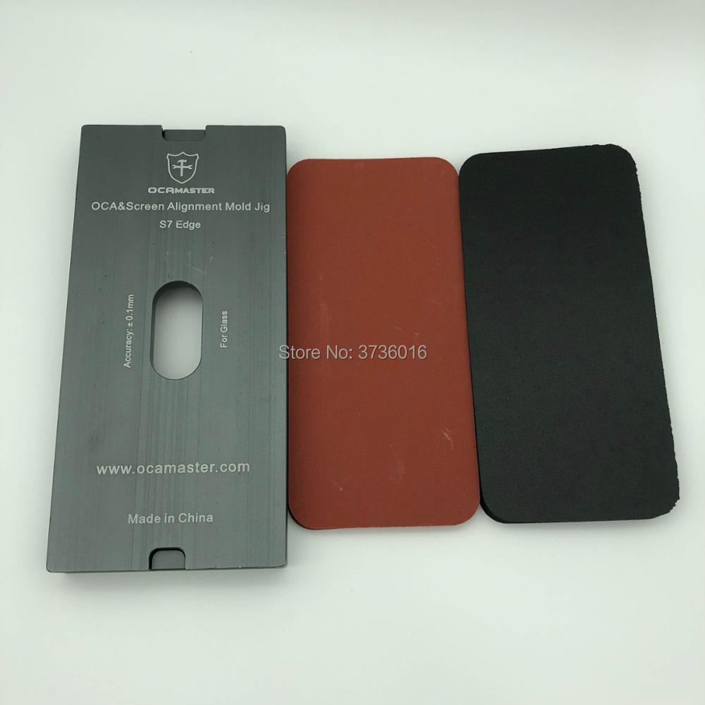 Universal OCA laminating mold for samsung S6 edge to S9 plus and Note 8 LCD glass