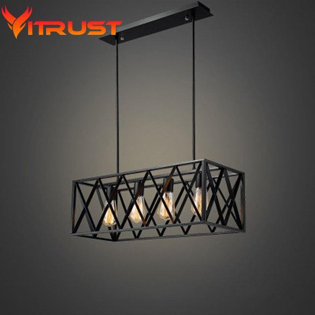 Industrie metall hängende lampe schmiedeeiserne kronleuchter ...