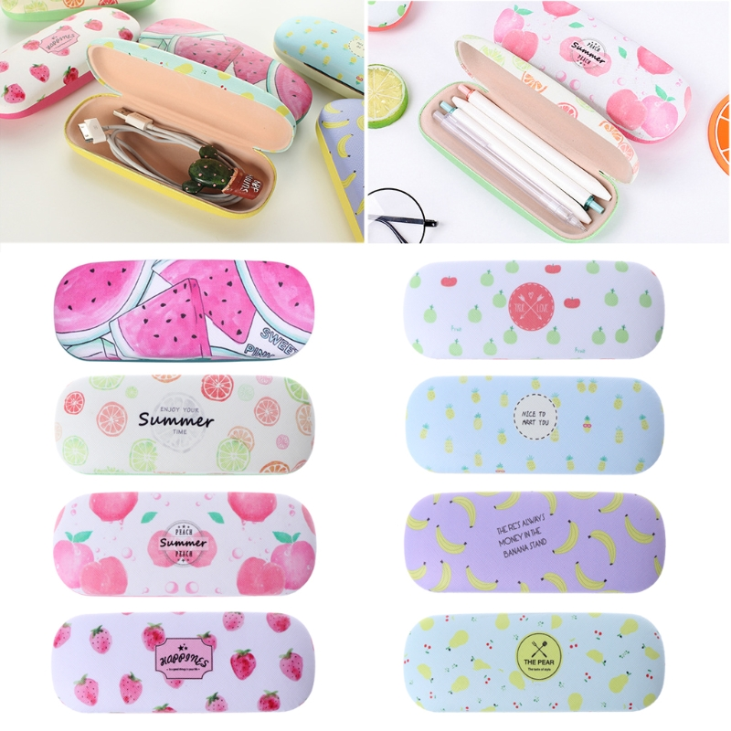 Sunglasses Case Box  Protable Fruit Sunglasses Hard Eye Glasses Case Eyewear Protector Box Pouch Bageyewear Accessories