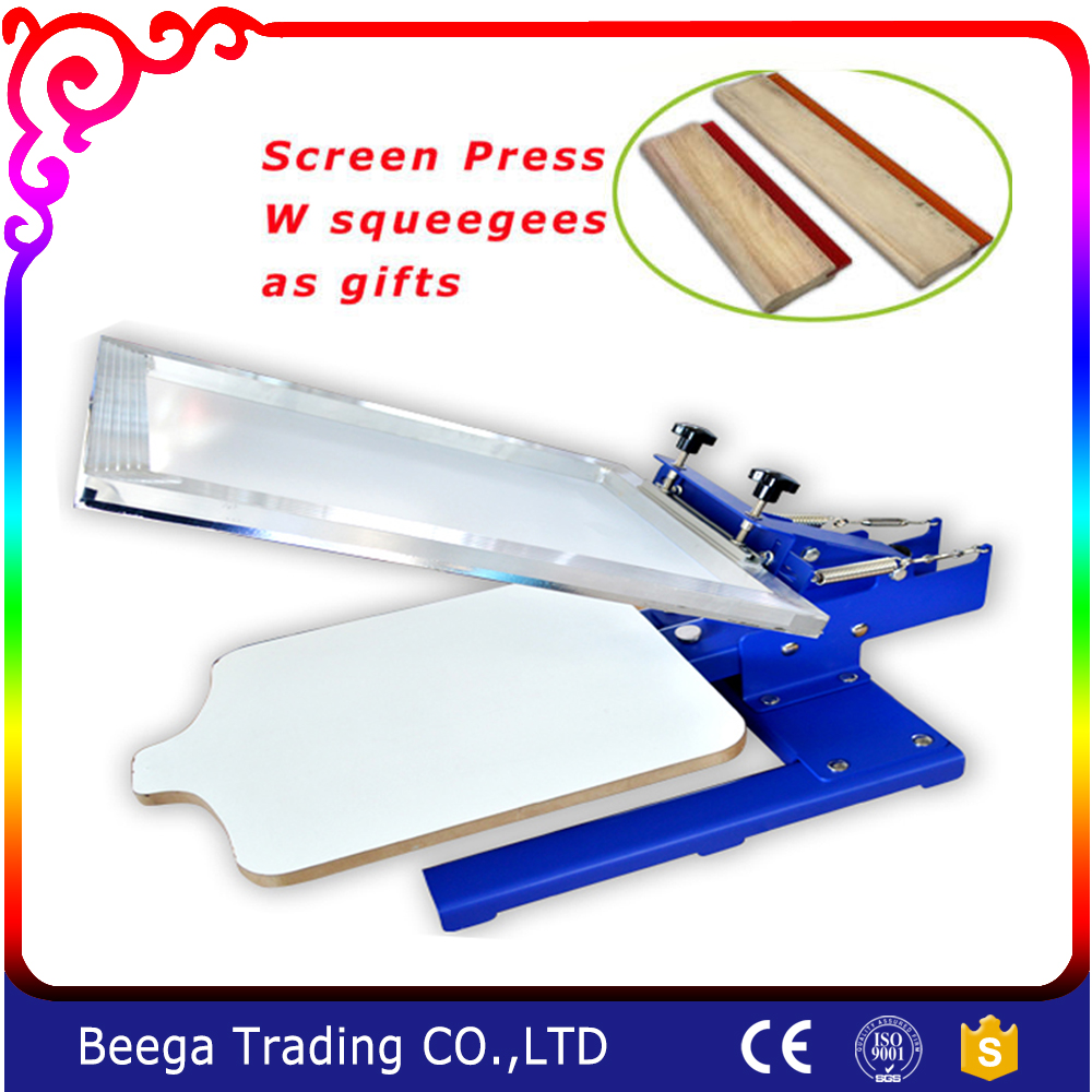 Free Shipping with Gift (Squeegee) DJ-11TXScreen Printing Starter Hobby Press Pallet Adjustable free shipping 3m squeegee high quality wrapping scraper with cloth pp sticker scraper car wrap tools felt scarper squeegee a02