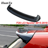 Carbon Fiber 3D style F20 F21 LCI Rear Spoiler for BMW 1 series Gloss Black Trunk Boot Lip Wings 118i 135i 2015 2018