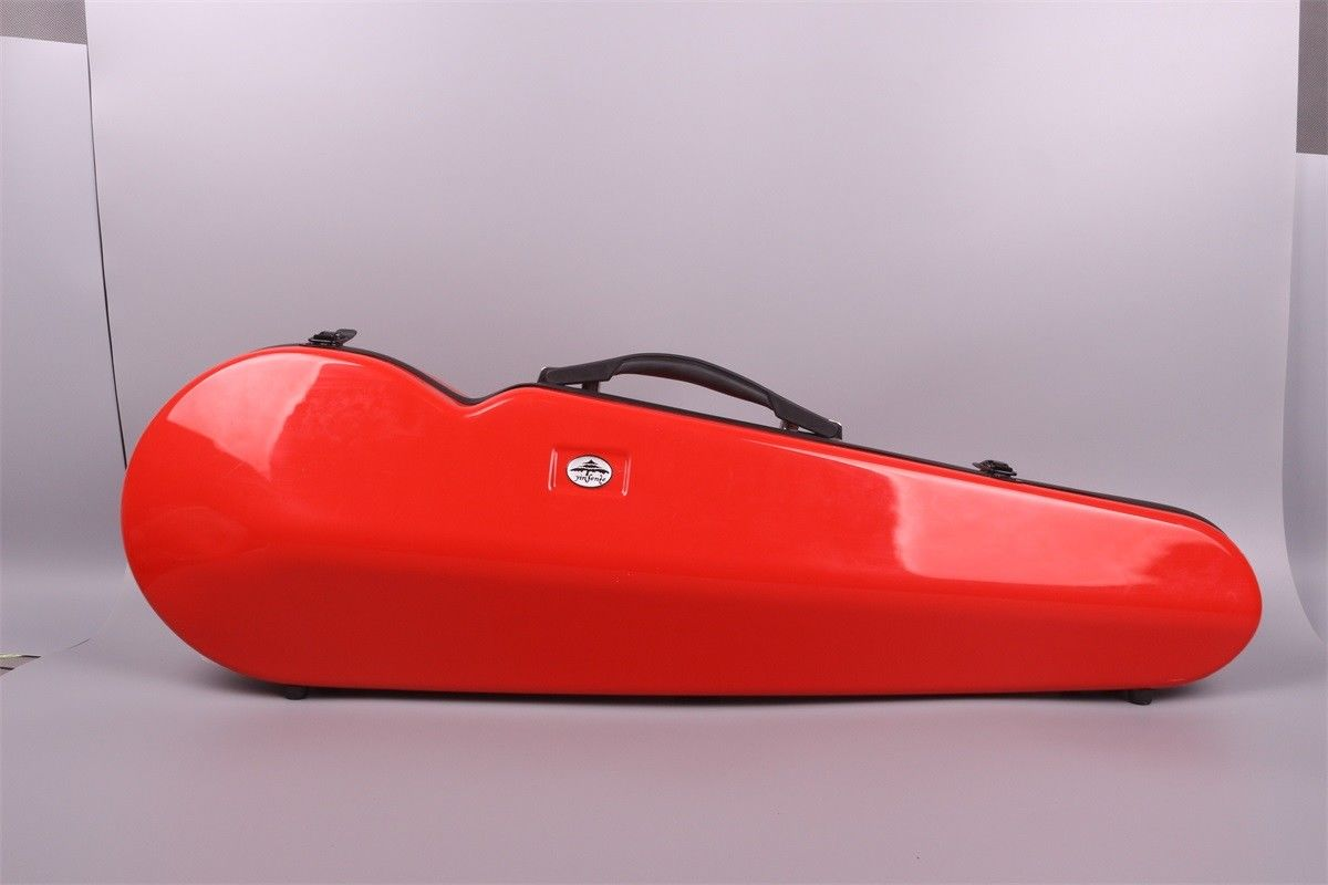 New Full Size 4/4 Violin Case High Strength Composite Material 1.7kg Red Color