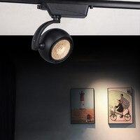 Thrisdar 20W 25W Modern LED Track Spotlight Adjustable Restaurant Clothe Shop Background LED Ceiling Rail Track Spotlight