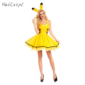 Image 1 - Halloween Costume Women Fancy Dress Sexy Cute Anime Cosplay Party Wear Girls Holiday Festival Dance Clothes For Adult