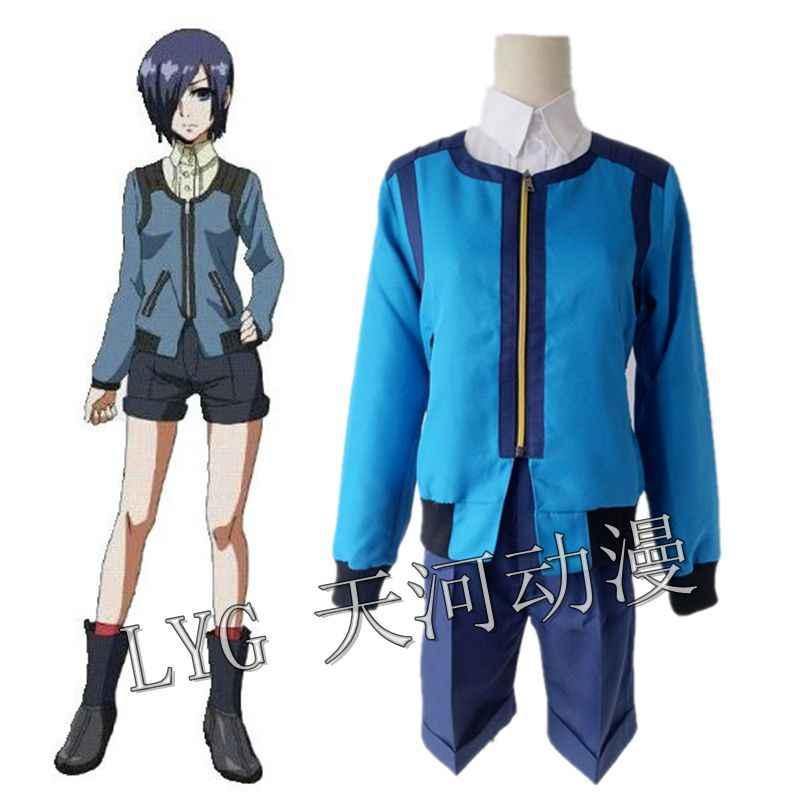 e9c919f2f8569 Detail Feedback Questions about Full Set Japanese Anime Touka Kirishima  Cosplay Uniform Halloween Costume kirishima Tokyo Ghoul Touka Cosplay  Cosutme on ...