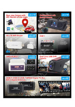 Auto DVD Stereo Accessoires OBD2 DVR DAB 4g Dongle TV Box Achteruitrijcamera Sales Mix (accepteren alleen bestelling met AUTO DVD samen)(China)