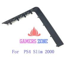 Cubierta para puerta de disco duro para PS4 Slim 2000, funda carcasa para consola, color negro