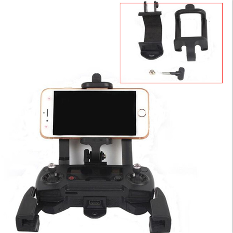 For DJI Remote Control Holder Bracket Phone 50 85mm Tablet Front Bracket Holder Clip Phone Clamp For DJI Mavic Pro Air Spark