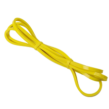 купить 5-15lb 2080mm Rubber Pull Rope Resistance Bands Elastic Loop Stretch Training Yoga Fitness Crossfit Pilates Gym Power Sports по цене 58.08 рублей