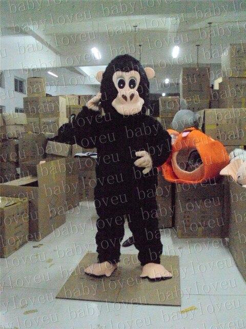 orangutn mono mascota de disfraces de halloween del partido disfraces dinosaurios disfraces de navidad embroma el