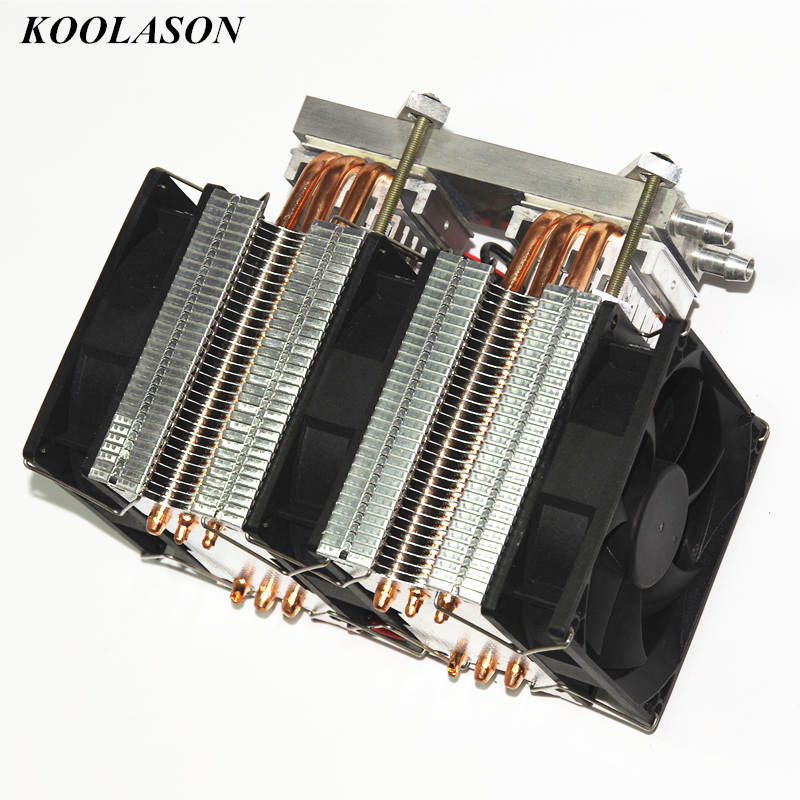 KOOLASON 12V 288W DIY dual core semiconductor chip refrigeration PC CPU auxiliary water cooled cold water