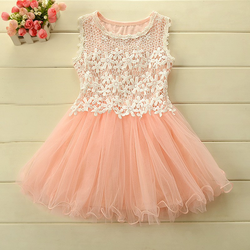 2016 Baby Girls Summer Style Princess Dresses Baby Girl Clothing Children s Fantasy Girl Party Dress