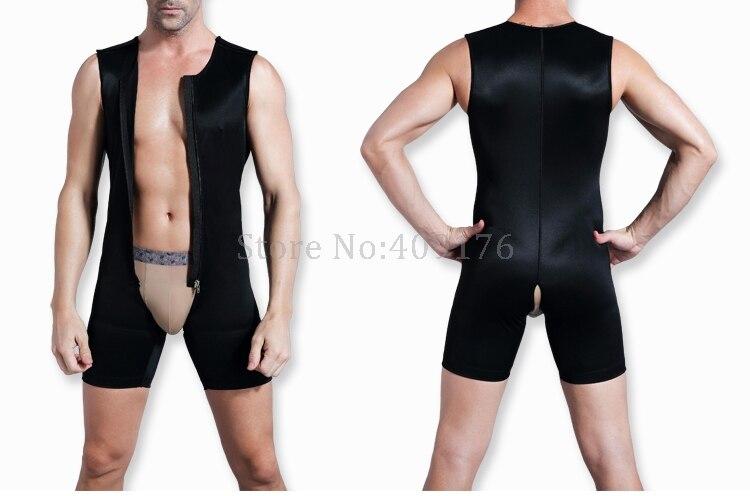 6bff980e0 PRAYGER Men Gynecomastia Slimming Full Body Shaper Sleeveless Waist Trainer  Bodybuilding Shapewear Control Boobs Bodysuits-in Shapers from Underwear ...