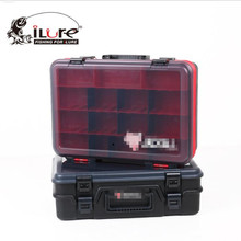 Y068Free shipping fishing Tackle Boxes Freshwater sea fishing portable bait box Receive a box outdoor fishing supplies equipment