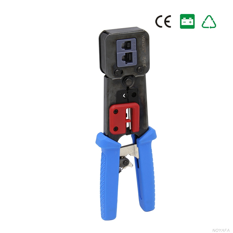 noyafa nf-5004 network cable crimper rj45 rj11 rj12 connectors cable crimping tools for cat5/cat 5e belkin fastcat 5e snagless patch cable rj45 connectors 7 ft gray page 8