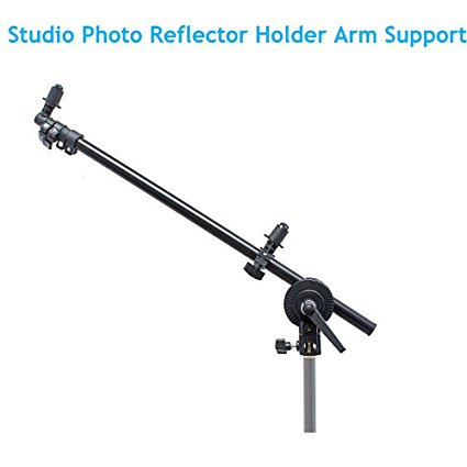 Reflector Disc Arm Support New horizon PRO Studio Photo Holder Bracket Swivel Head Reflector Disc Arm