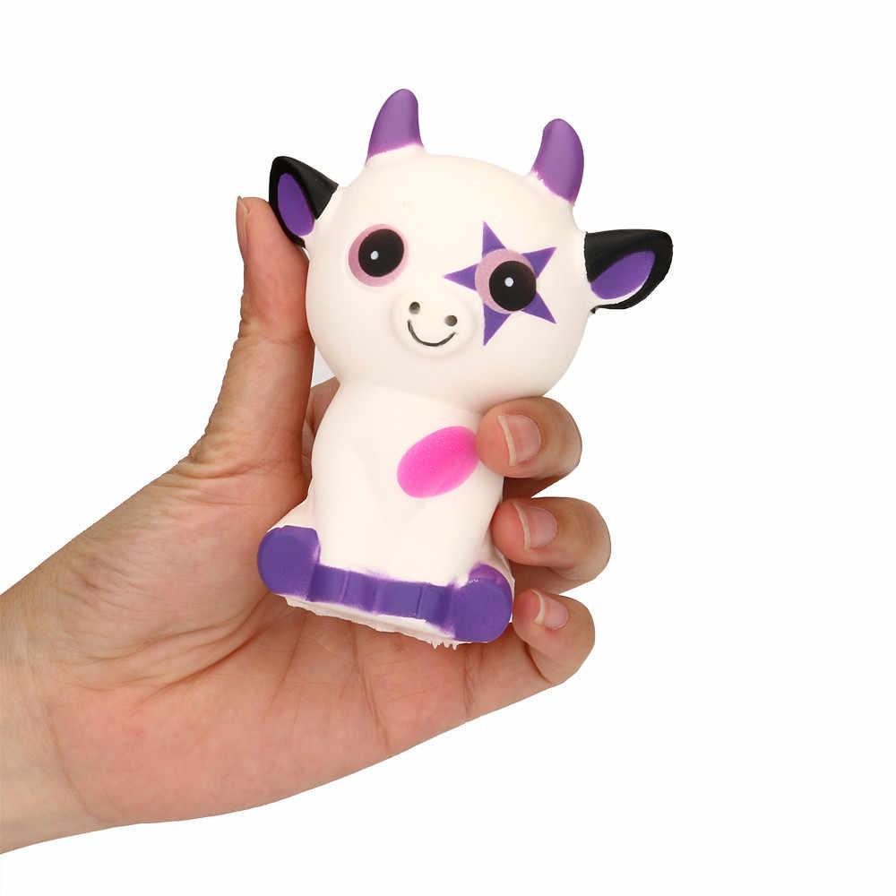 Juguetes para niños inteligencia educación exprimidor buey cuerno gato crema pan perfumado lento aumento juguetes teléfono encanto regalos Jan 30