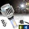 2000Lumen LED M5 Motorcycle Car Headlight Lamp Hi/Lo Bulb 6000K White 3000K Gold Color Light Universal for Kawasaki Honda Yamaha