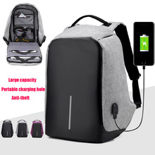 Interface de Taxa de Telefone USB externo Notebook Tablet Bobby Business Travel Mochila Escolar Projeto Anti Roubo Saco Do Portátil para 15.6