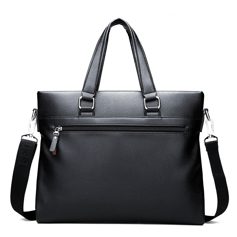 Men's Briefcase Tote Messenger-Bag Crossbody-Bag Computer Business Casual Luxury New