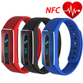 NFC Waterproof Smart Band HB02 Sleep Fitness Tracker Heart Rate Monitor Bracelet For IOS Android Wristband PK Miband 2 Smartband