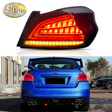 Car Styling Tail Lights Taillight case for Subaru WRX STI Taillghts 2013-2019 LED Rear Lamp